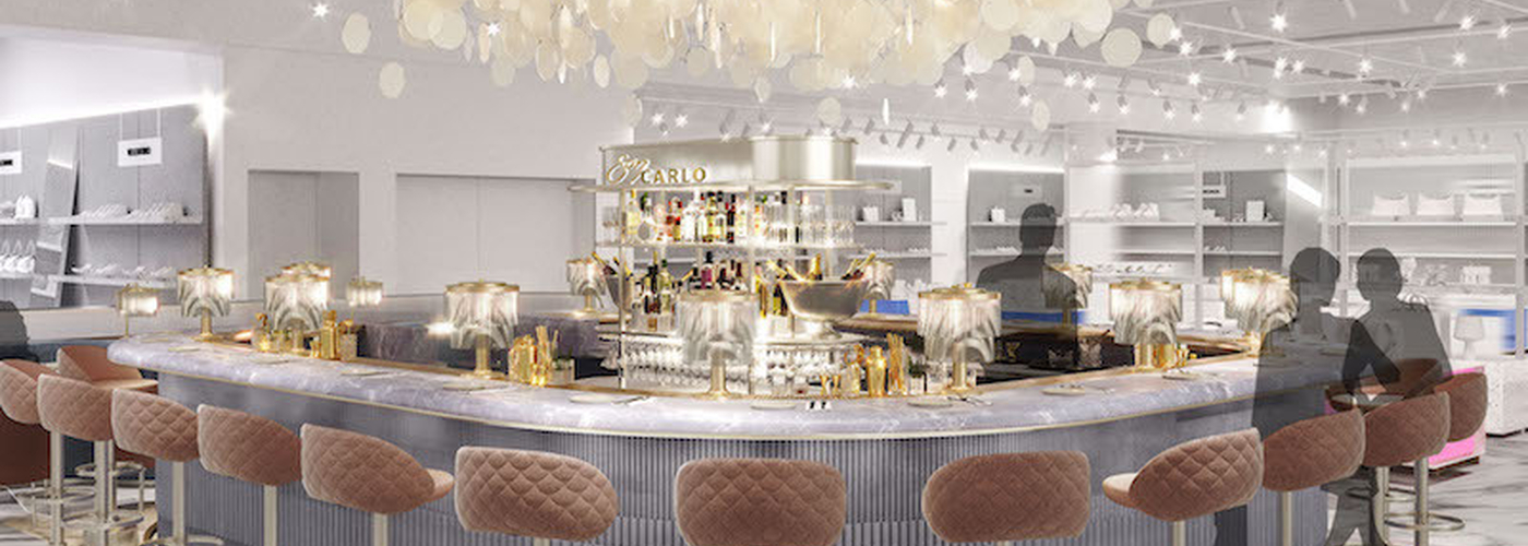 2019 07 09 San Carlo Champagne Bar At Selfridges Trafford