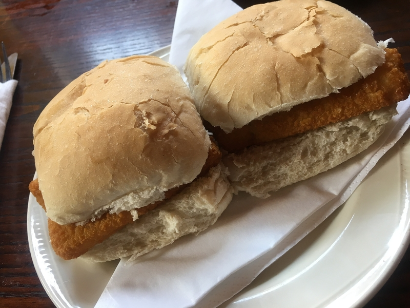 Fish Finger Butty Bulls Head