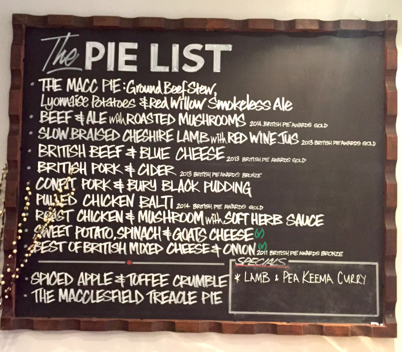 Pie List Lord Of The Pies Chorlton