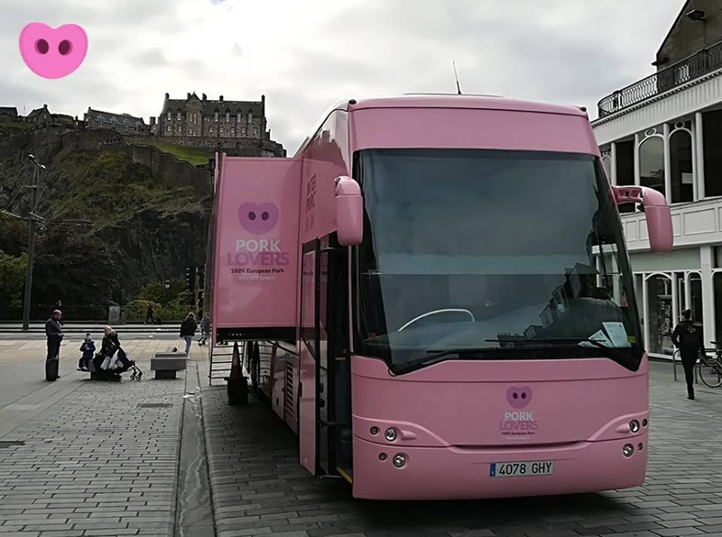 20171110 Spanish Pork Bus Edinburgh