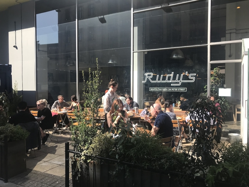 180418 Rudys Pizza Terrace Peter Street