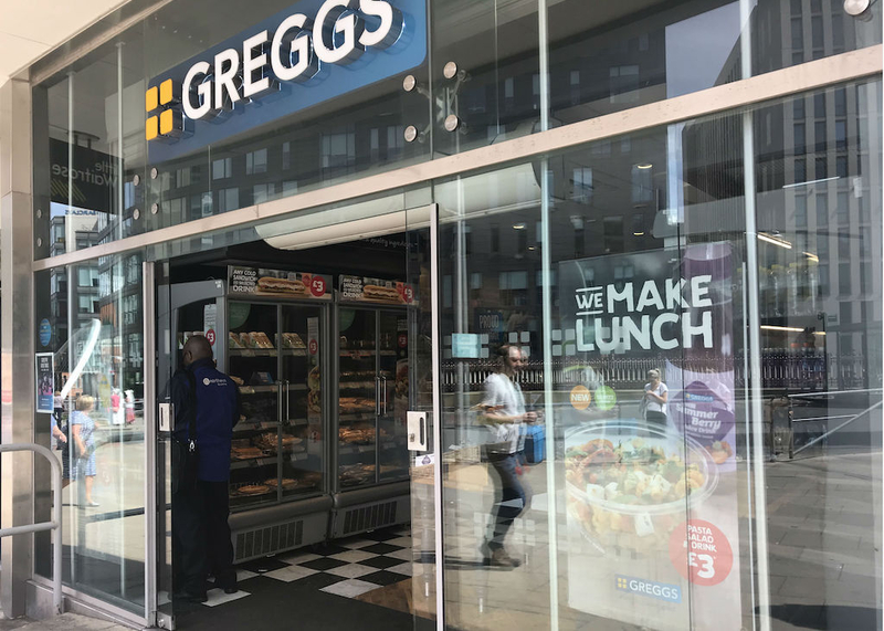 2018 07 22 Greggs Piccadilly Approach