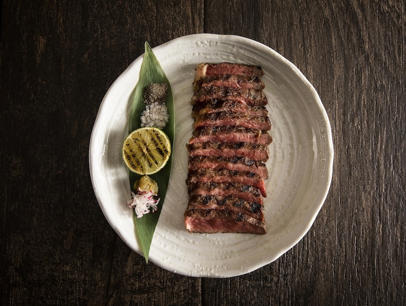 Peter Street Kitchen 28 Day Aged Rib Eye Beef With Yuzu Kosho 20 Smoked Sea Salt And Black Pepper