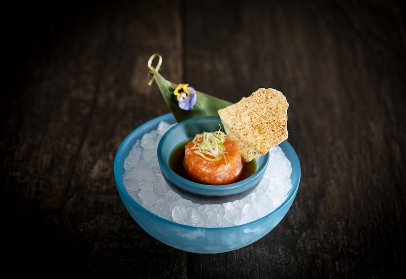 Peter Street Kitchen Salmon Tartare With Shisho Soy