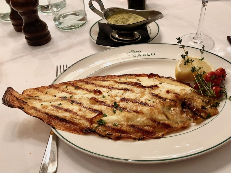 2018 11 06 Cicchetti Dover Sole Best Dishes