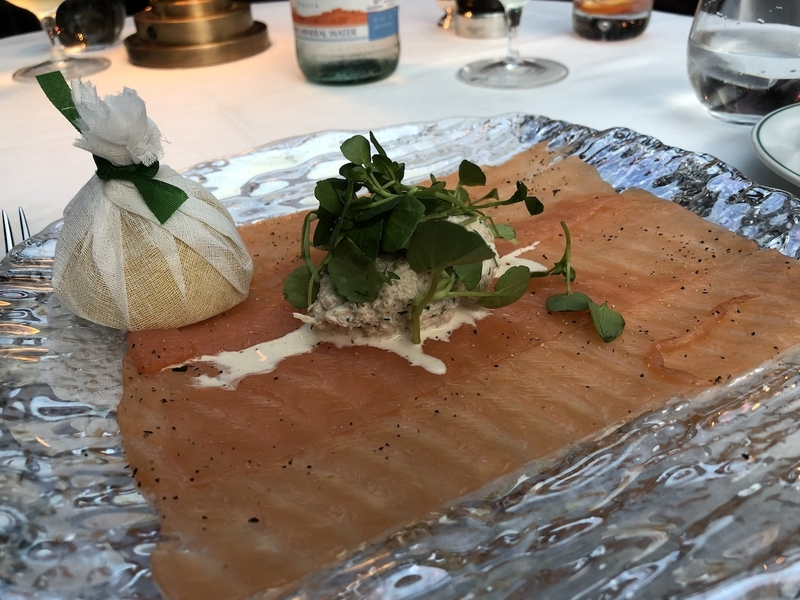 2018 12 04 Ivy Manchester Smoked Salmon