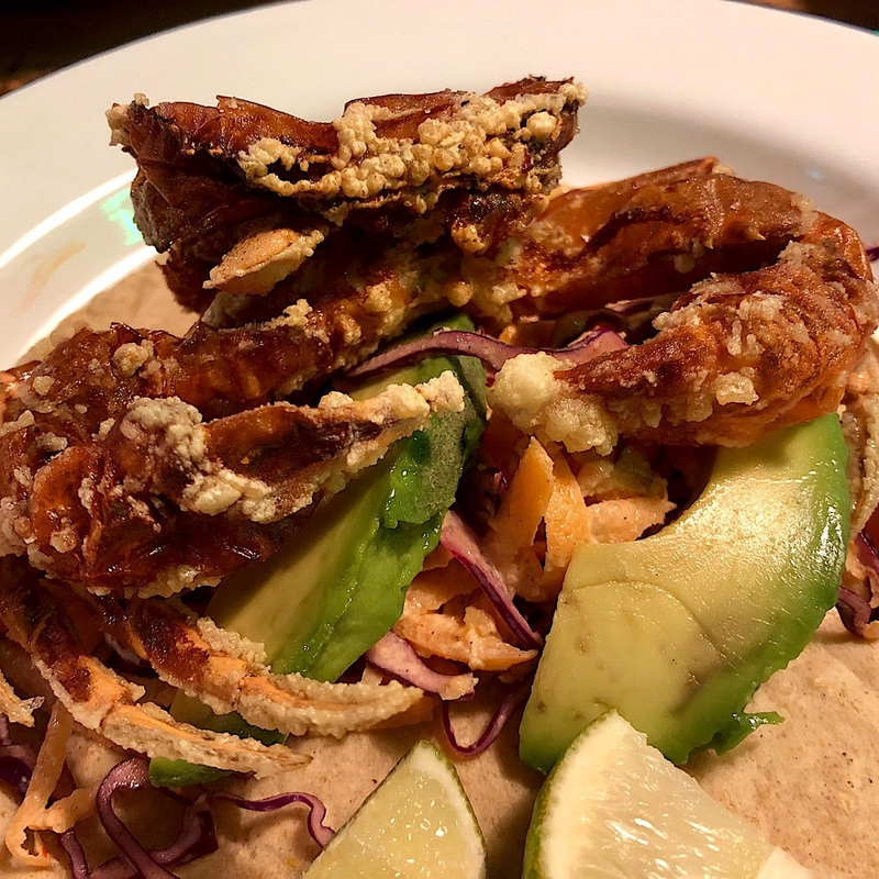 2019 01 29 Best Dishes Soft Shell Crab El Taquero