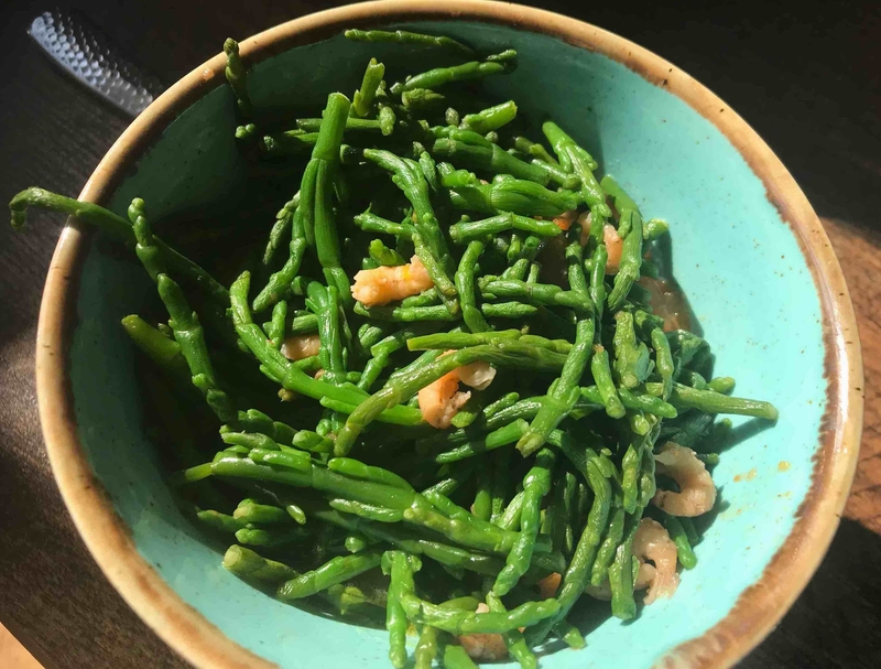 2019 04 08 Fishermans Table Samphire Shrimp