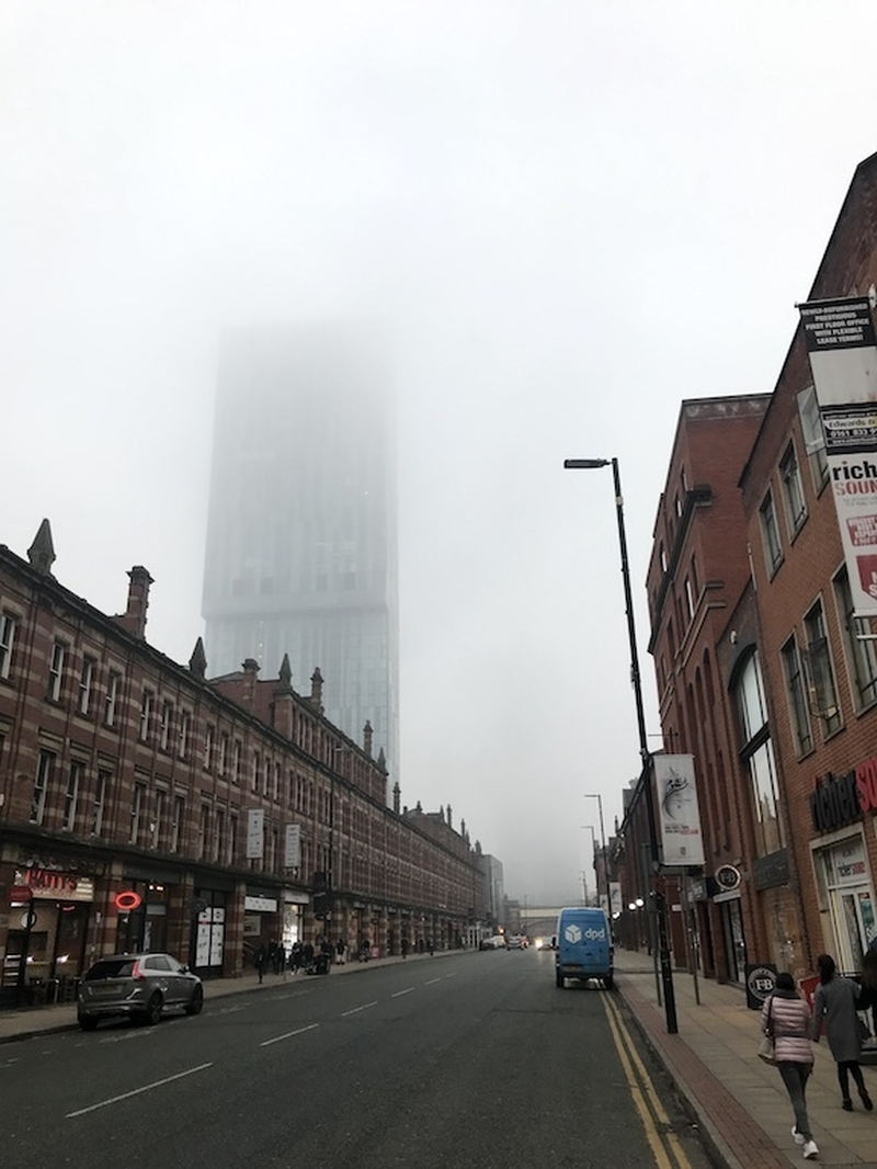 Beetham Tower Mist