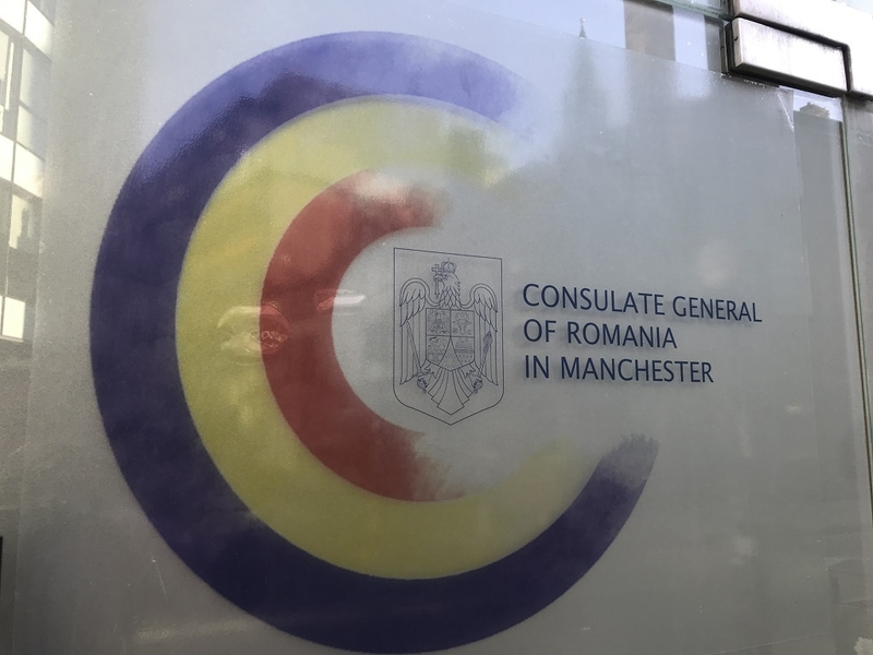 17 02 2019 The Romanian Consulate Copies The Manchester Confidential Logo
