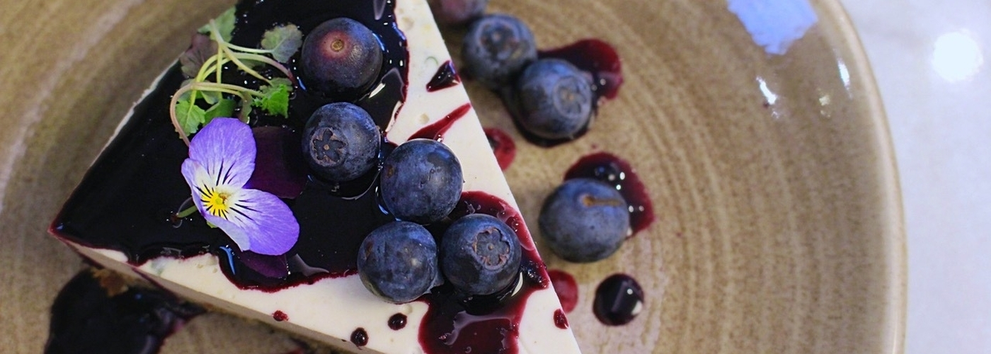2019 04 12 3 Squared Blueberry Basil Cheesecake Header