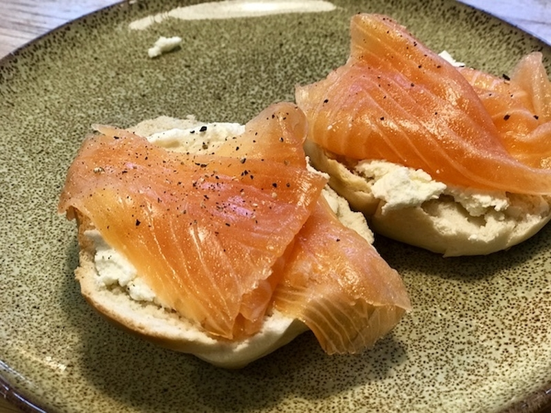 Eat Well Manchester Lockdown Meal Kit Smoked Salmon Bagels