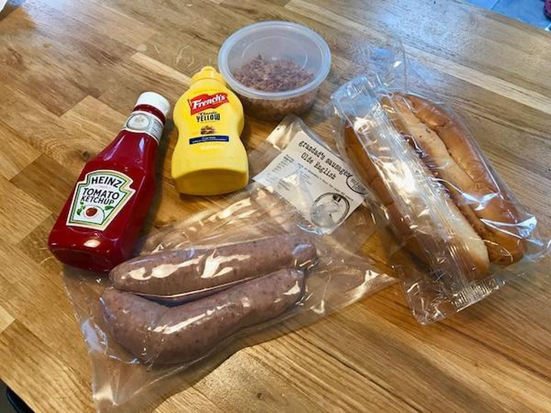A Cook At Home Kit From Grandads Sausages On Eat Well Mcr