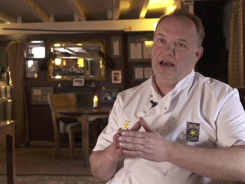 Andrew Pern Chef At The Star Inn Harome Number Two In Top 50 Gastropubs 2021