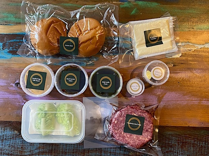Burger Kit From Mana Via Eat Well Mcr