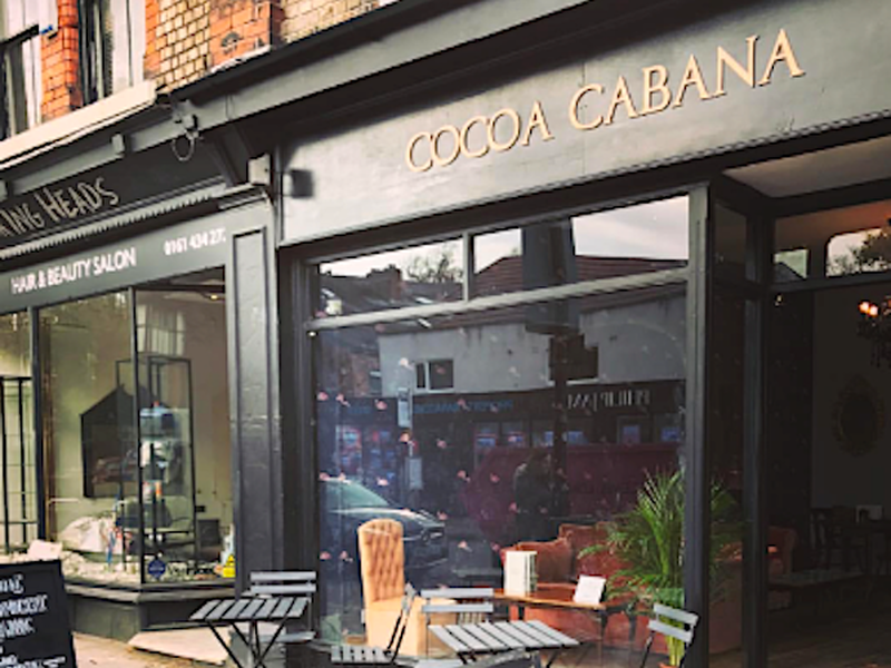 Cocoa Cabana Choclate Shop In Didsbury Manchester
