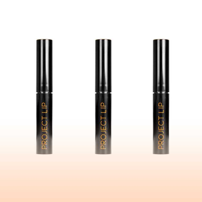 Project Lip Matte Lip Plumper By Haych Cosmetics Available At Www Haychcosmetics Com Row Of 3
