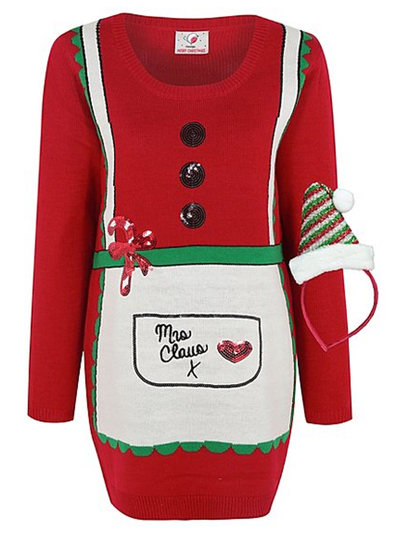 2017 11 23 Asda Mrs Claus Jumper