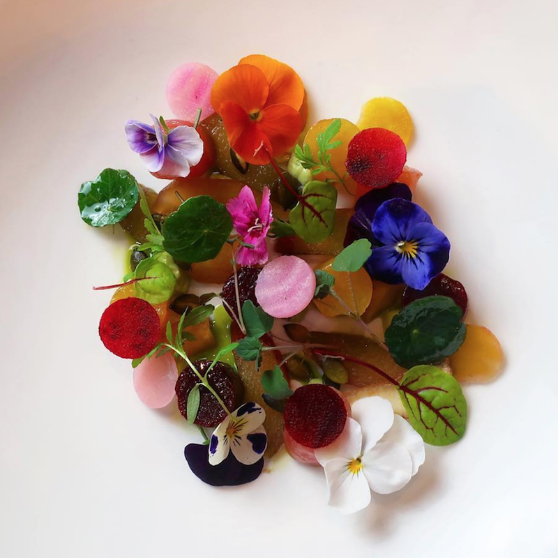 20192305 Chefs Table Gardens Flowers