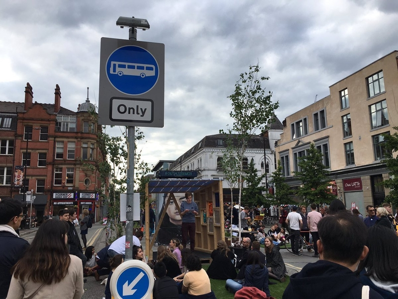 190620 Clean Air Stevenson Square Speakers Corner @walkride