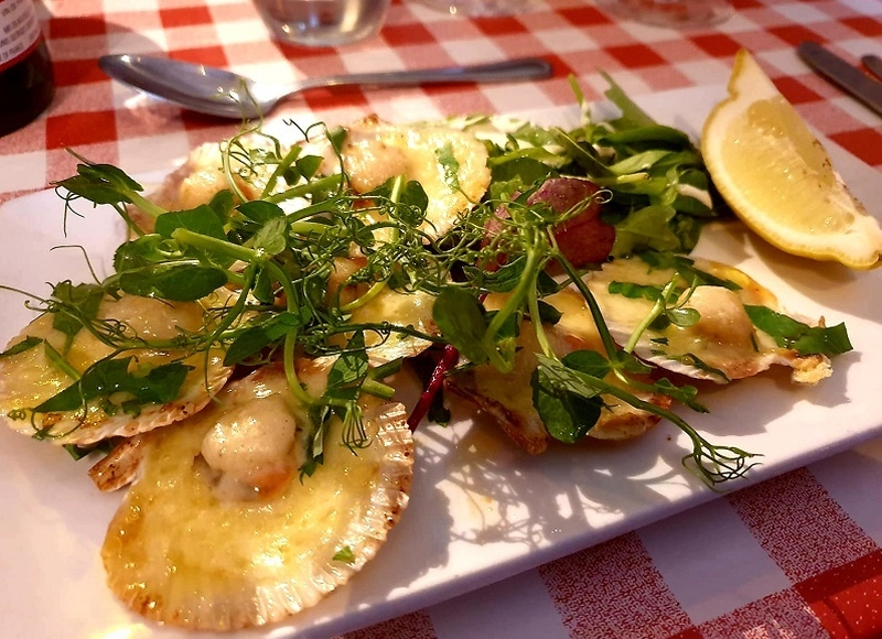 2019 06 08 The Terrace Saltaire Scallops