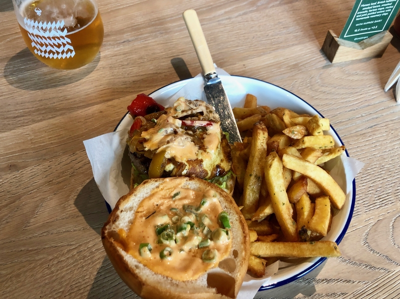 2019 09 10 Honest Burgers Liverpool Cheeseburger
