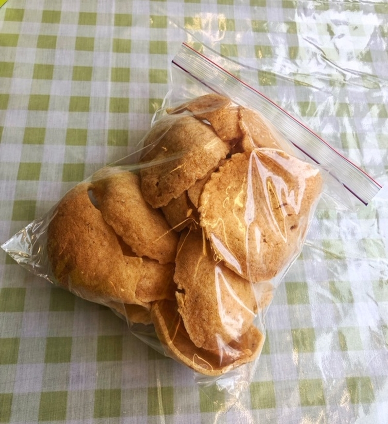2019 09 06 Nasi Lemak Prawn Crackers
