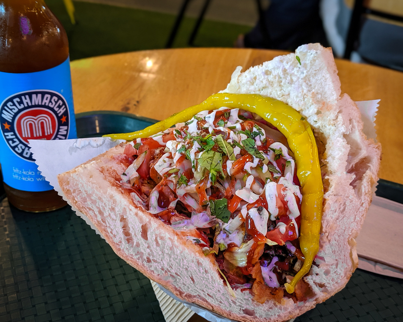 2019 09 17 Doner Shack Review Mixed Chilli Doner