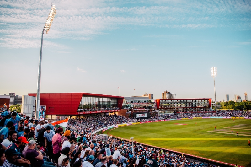 Sunset At Emirates Old Trafford