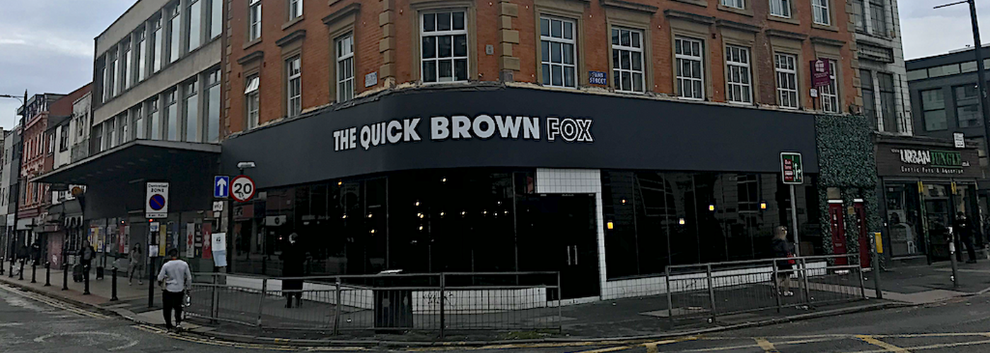 2019 09 27 The Quick Brown Fox Exterior