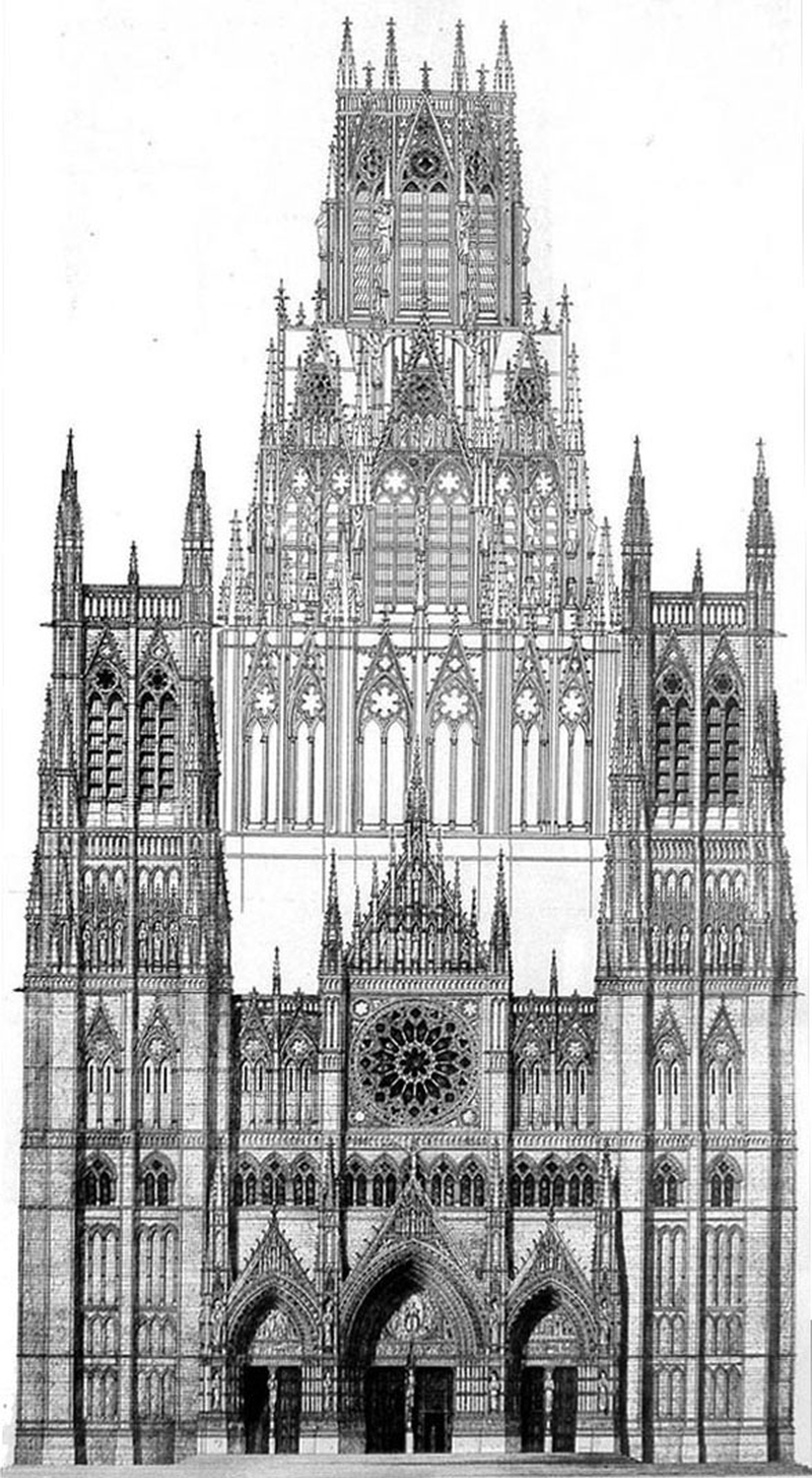 2019 10 04 Piccadilly Imagined Proposed Cathedral West Front