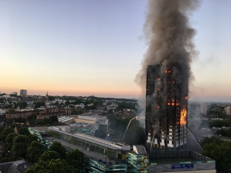 2019 11 01 Grenfell Tower Fire Landscape  Photo By Natalie Ox