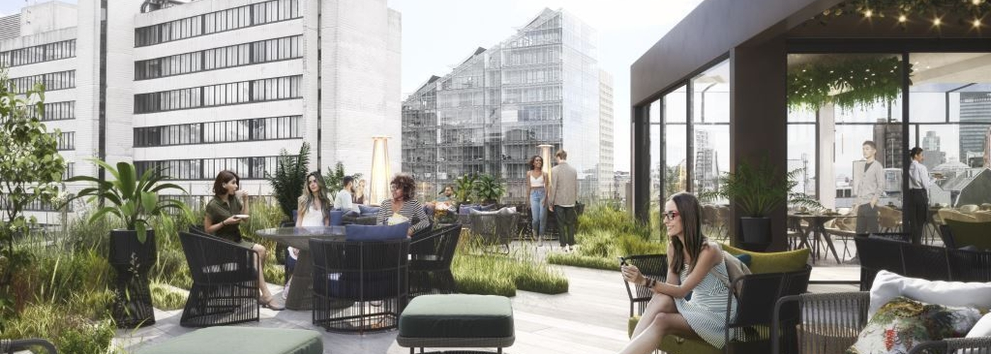 2019 11 01 Property Blackfriars House Rooftop Seating
