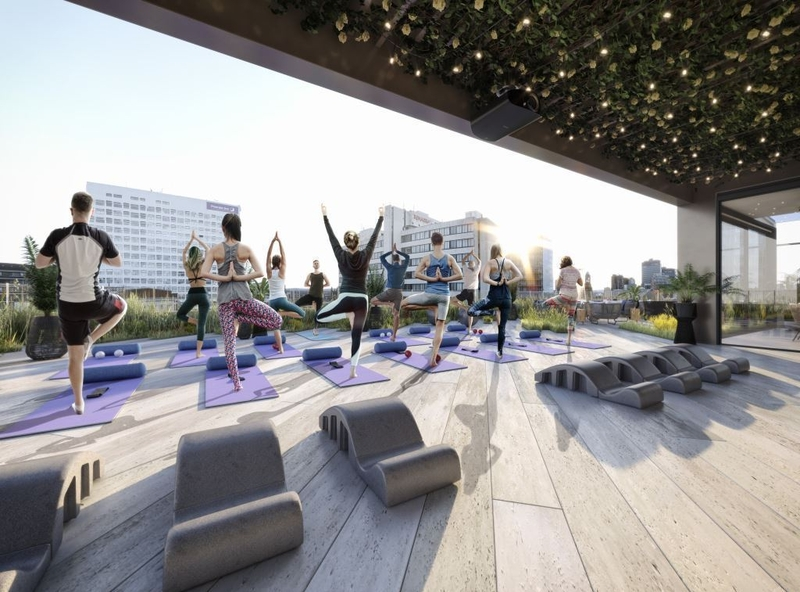 2019 11 01 Property Blackfriars House Rooftop Yoga