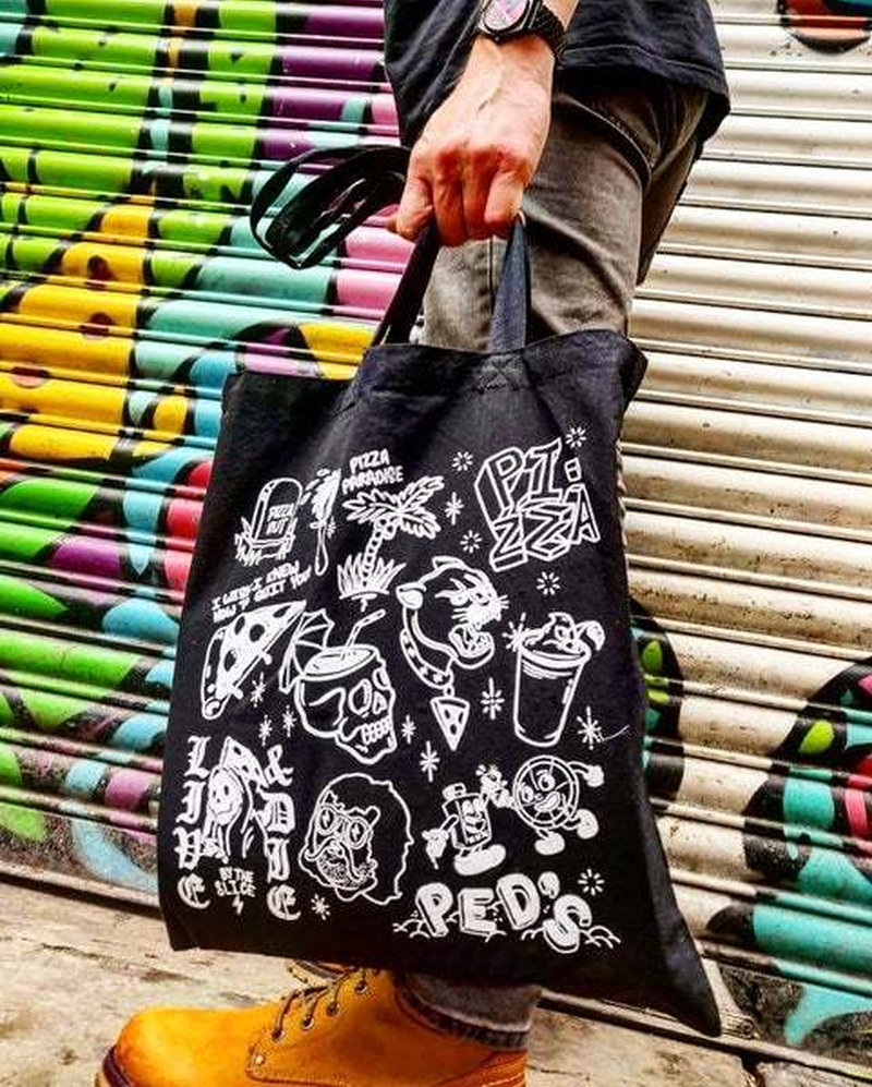 2019 11 08 Crazy Pedros Tote Bag
