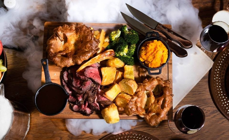 2019 11 12 Liverpool Roasts Bastion Sharing Platter