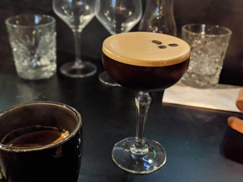 2019 11 17 The Owl Leeds Night Bird Espresso Martini