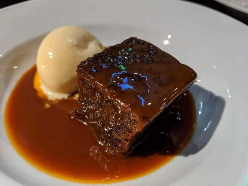 2019 11 17 The Owl Leeds Sticky Toffee Pudding