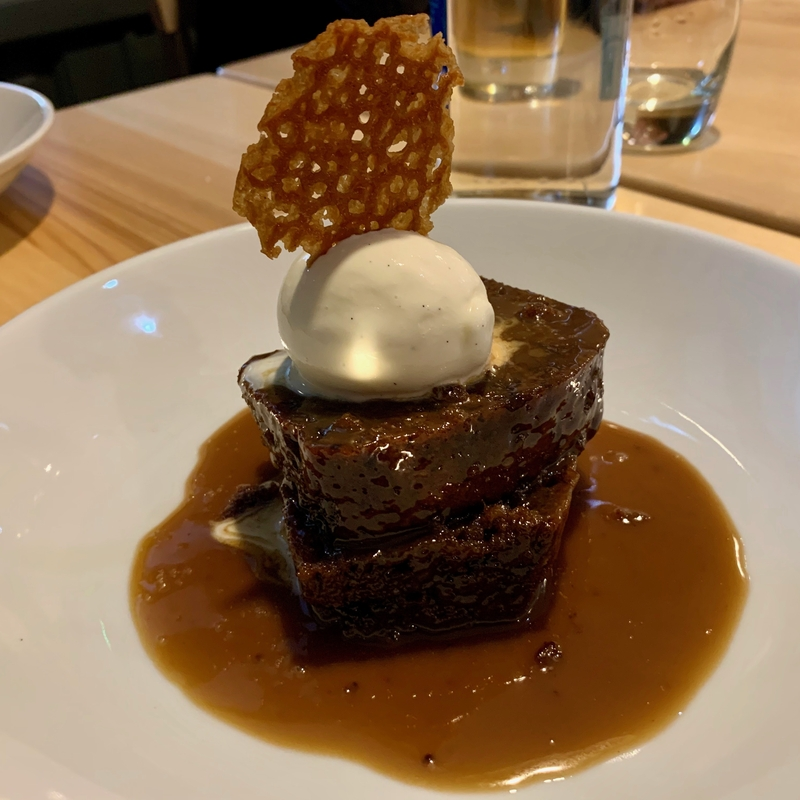 2019 11 19 Easy Fish Sticky Toffee Pudding