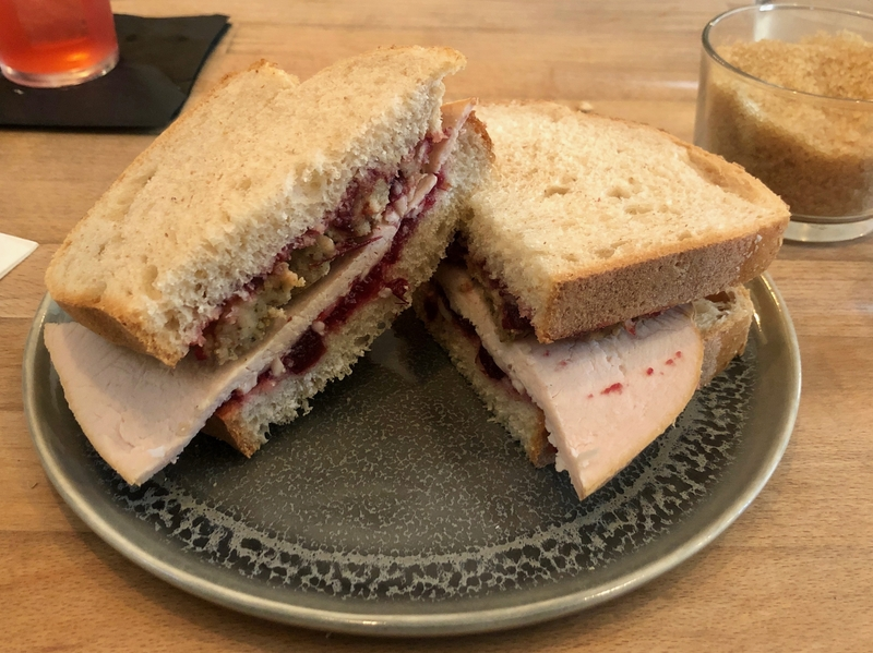 2019 12 10 One Percent Forest Liverpool Turkey Sandwich