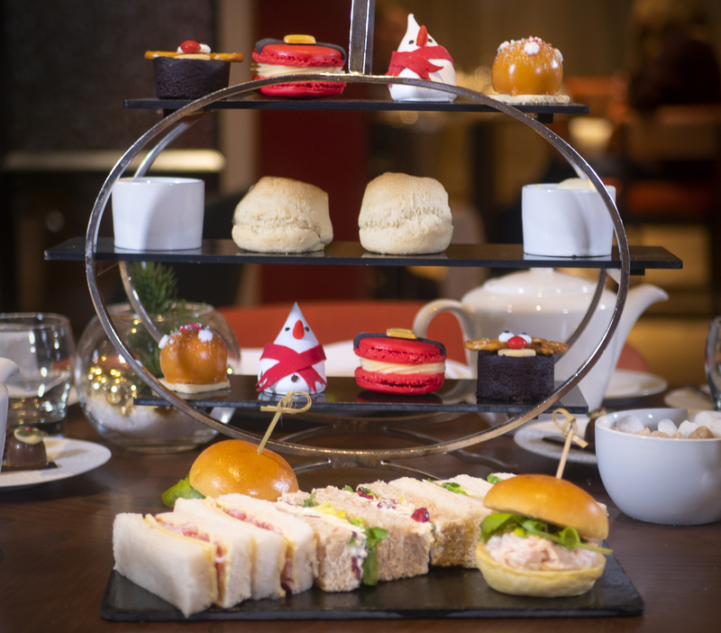 2019 12 12 The Lowry Festive Afternoon Tea