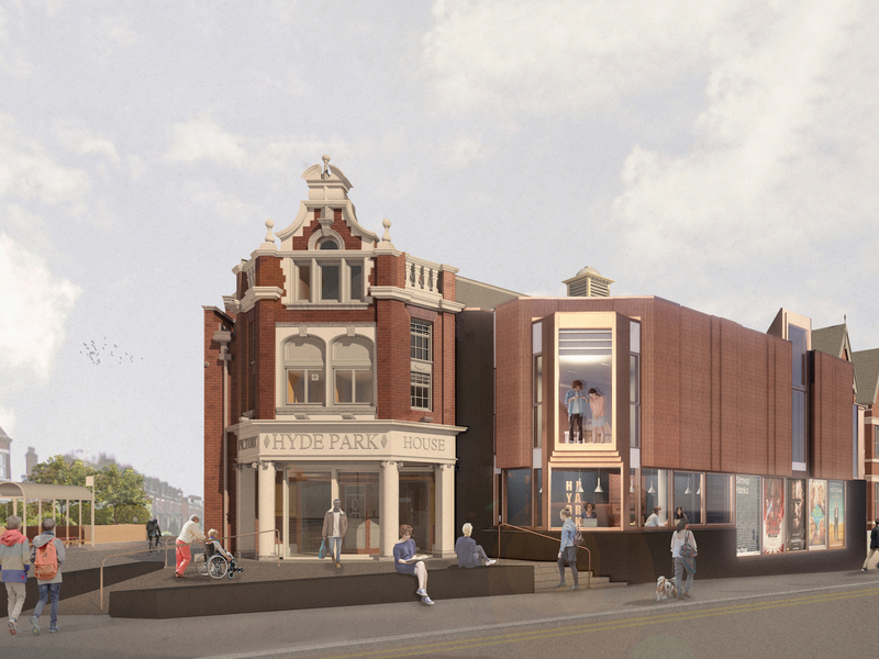 2020 01 21 Hyde Park Picture House Render Daytime  Credit Page Park