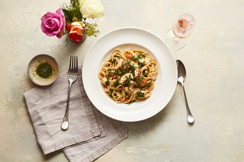 2020 01 31 Carluccios Lobster Prawn Linguine
