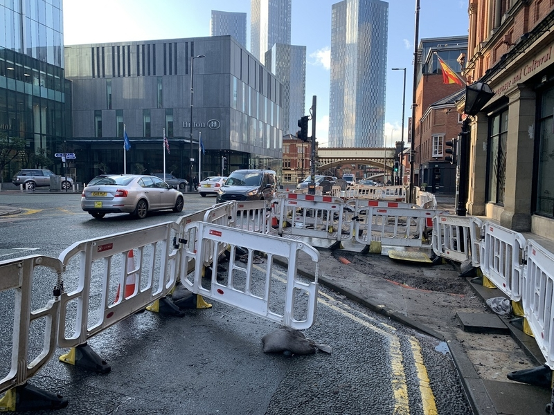 2020 02 27 Deansgate Pavement Extensions 2