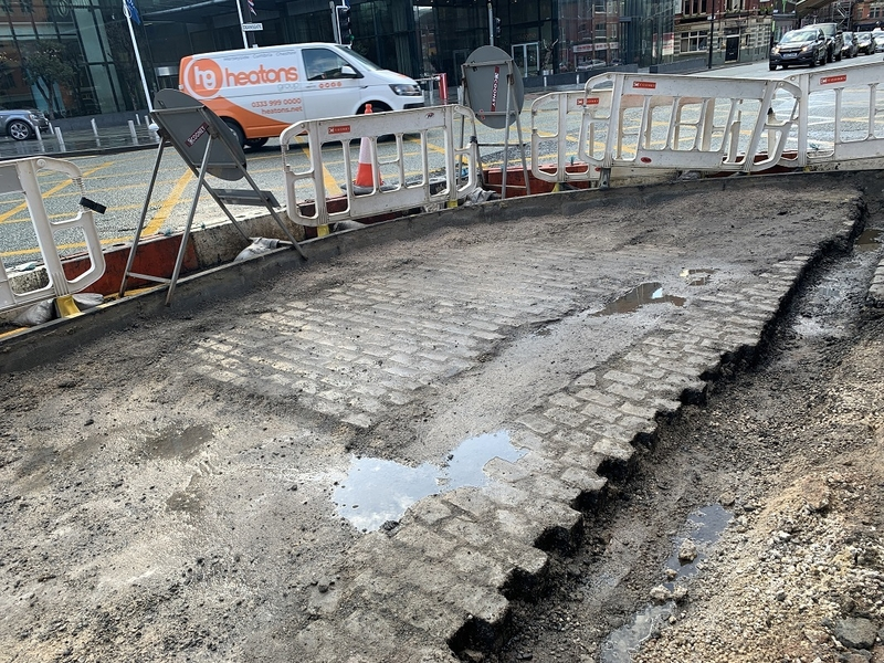 2020 02 27 Deansgate Pavement Extensions 3