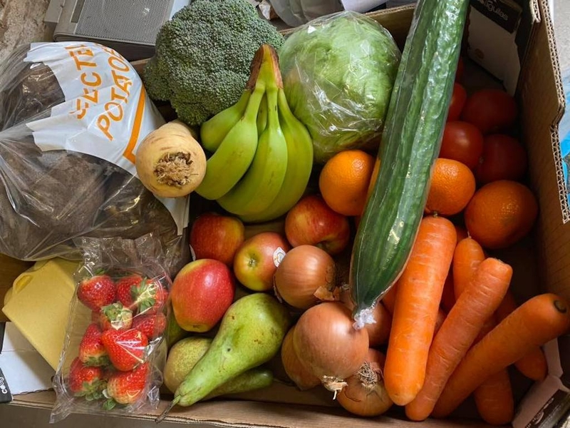 2020 04 14 Liverpool Delivery Church View Farm Shop Veg Box