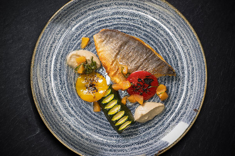 20190102 The River Restaurant At The Lowry Hotel Pan Roasted Sea Bream 600X400
