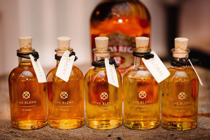 Chivas Regal Blending Bottles