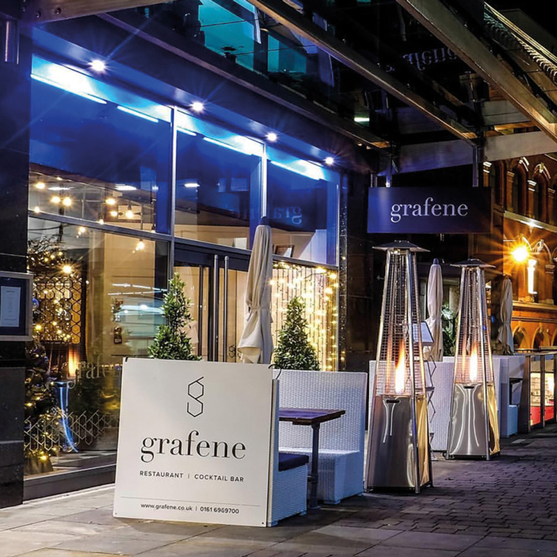 20180813 Grafene Exterior At Night Sqr