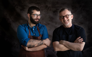 180516 Canto Simon Shaw Chef Carlos Gomes And Simon Shaw From Canto Restaurant Manchester Landscape Format 6720 X 4480